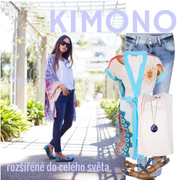 KIMONO..rozšířené do celého světa..