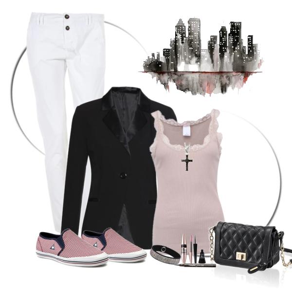 procházkový outfit