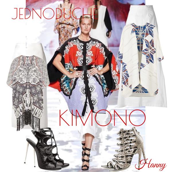 Jednoduché kimono..
