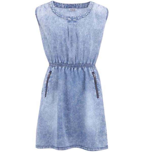Modré džínové šaty ♥