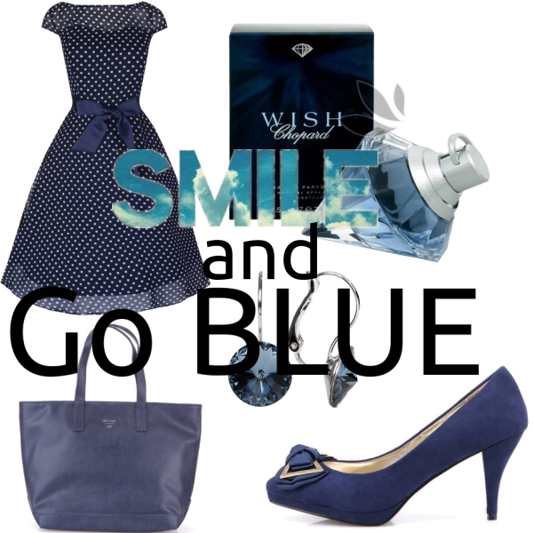 smile and go blue