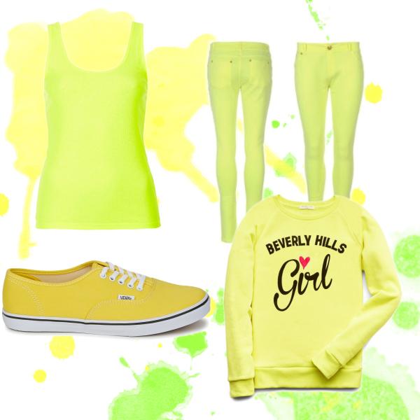 Žluta a zelená