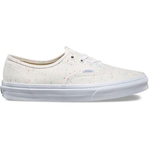 21b52feaecf Vans Authentic (Speckle Jersey) cream true white - Glami.cz