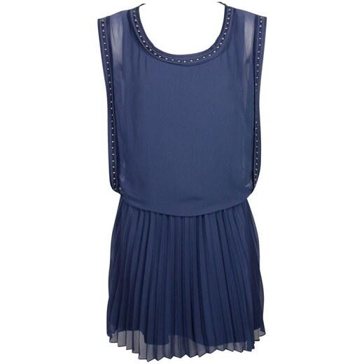Guess dámské modré šaty - Glami.cz 293649b117d