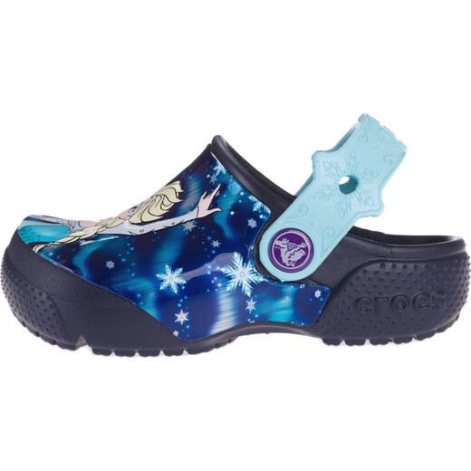 01850a6d6381b Crocs Crocs Fun Lab Frozen Crocs detské Modrá - Glami.sk