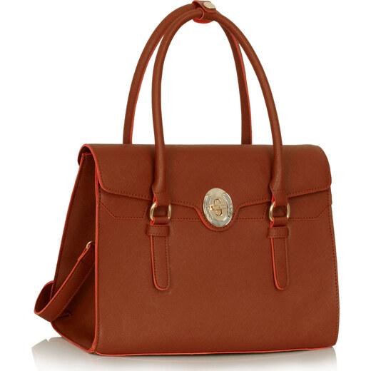 Dámska kabelka Susan - hnedá - Glami.sk 126dc6f763f