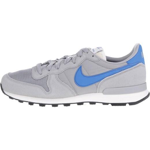 Sivé pánske tenisky so semišovými detailmi Nike Internationalist - Glami.sk 5a3f06948cc