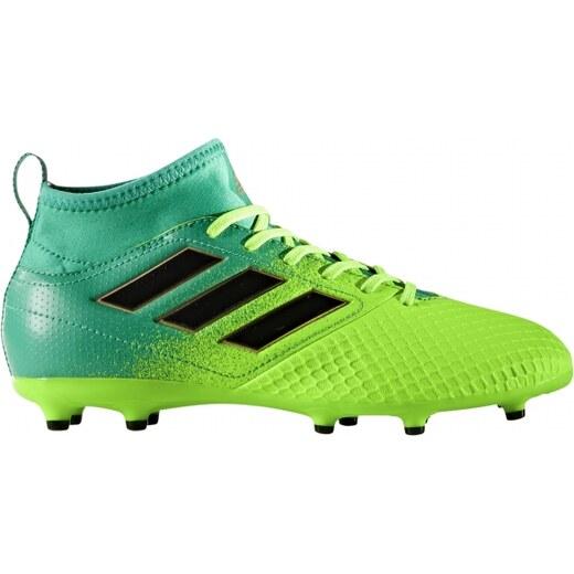 9ebbf9f3172db Kopačky lisovky adidas Performance ACE 17.3 FG J (Limeta / Černá / Zelená)  - Glami.cz