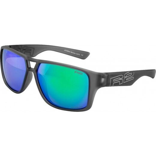 Športové slnečné okuliare R2 MASTER AT086A sivá rubber - Glami.sk 9240527cd79