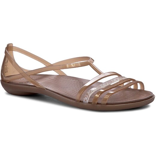 7301a64a495f Sandály CROCS - Isabella Sandal W 202465 Bronze - Glami.cz