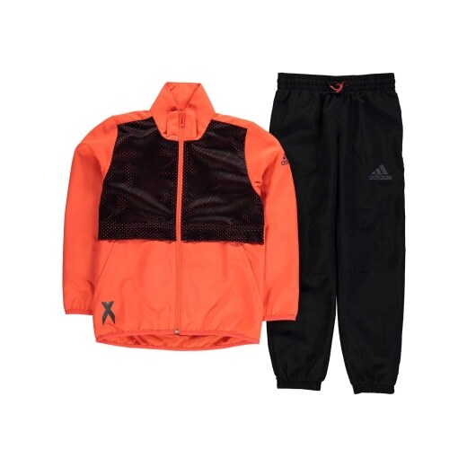 adidas Climalite Football Tracksuit Junior Boys - Glami.sk 93d3744d145
