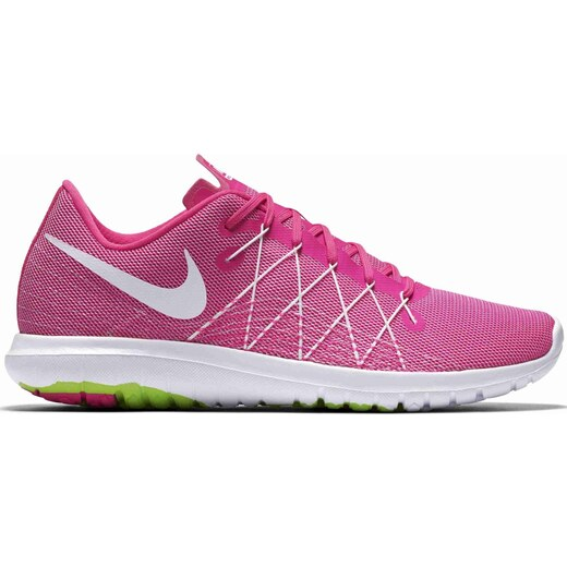 eaf0b9aa32a80 Dámské běžecké boty Nike WMNS FLEX FURY 2 PINK BLAST/WHITE-ELECTRIC GREE -  Glami.cz