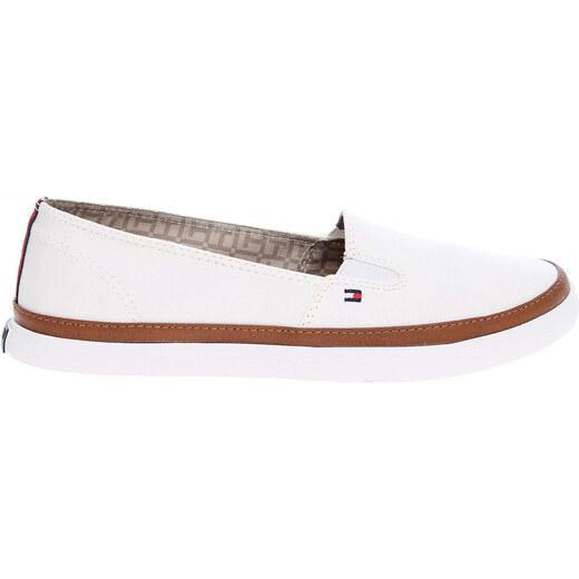 54635a8f743 Tommy Hilfiger dámská obuv FW0FW01656 K1285ESHA 7D bílá - Glami.cz
