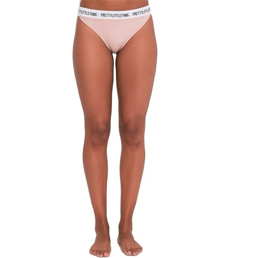 PRETTYLITTLETHING Vykrojené kalhotky s bílým lemem - Glami.cz 489ffb7094