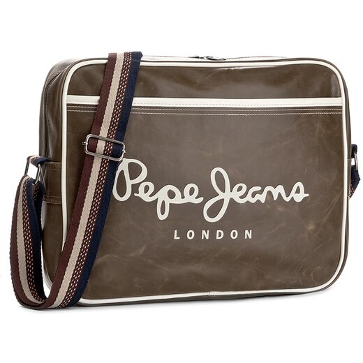 51e32d8ced2 Taška PEPE JEANS - Bans Bag PM030442 Military Green 679 - Glami.cz