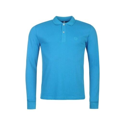 Sergio Tacchini Long Sleeve Polo Shirt Mens - Glami.hu 9d07306ad5
