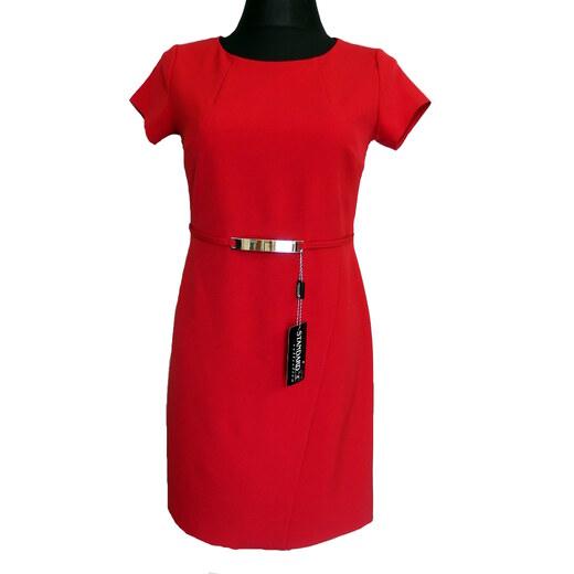 Polsko Společenské šaty červené - Glami.cz 31e3e52905