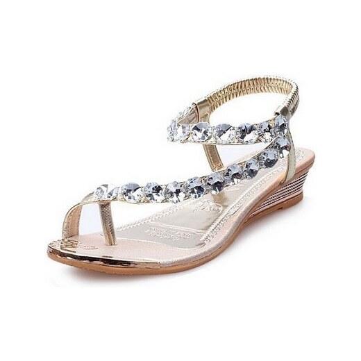 38e3230c71aa7 Dámské sandále s krystaly - Glami.cz