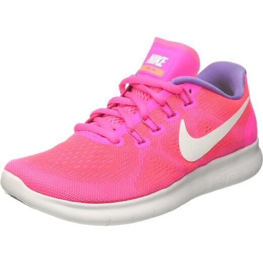 new arrivals f5054 0fe1e Nike Free RN 2017, Chaussures de Running Femme, Coureur Explosion  Rose Mangue Brillant Blanc Cassé, 38 EU - Glami.fr