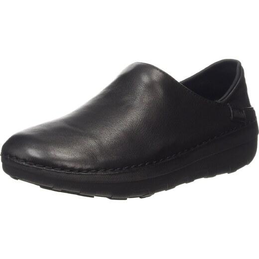 Superloafer (Leather), Mocassins (Loafers) Femme - Noir - Black (All Black 090), 41 EU (7 UK)FitFlop