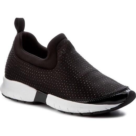 Sneakersy ARMANI JEANS - 925245 7A669 00020 Nero - Glami.cz fcc33a21e9
