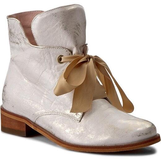 Magasított cipő EKSBUT - 77-4538-672-1G Złoto Licowa - Glami.hu e09c0a793f