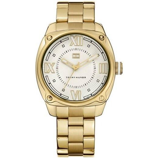 Tommy Hilfiger pánské zlaté hodinky - Glami.cz 7e8eb0809c