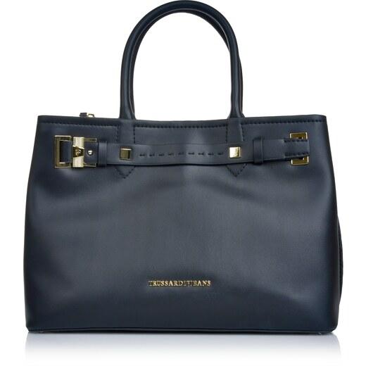 Značková kabelka cez plece Trussardi Jeans čierna 6trd-01-5-016 - Glami.sk 4edd141eff3