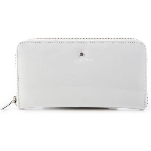 Wojewodzic kožená luxusná peňaženka biela lak veľká 3PD66 PL17 - Glami.sk fb3bc90a8f6
