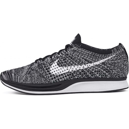 0ace37072d2 Sneakers - tenisky Nike Flyknit Racer Black   White - Glami.cz