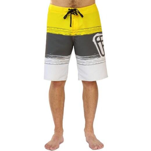Pánské koupací šortky Funstorm Wawahi yellow M - Glami.cz ccb2c7621d