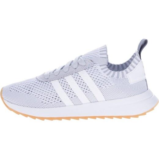 Sivo-biele dámske tenisky adidas Originals Flashback - Glami.sk c45cac425eb