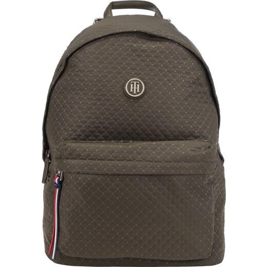 Zelený dámský batoh s jemným vzorem Tommy Hilfiger Poppy Quilted - Glami.cz 5e94dc8ae8
