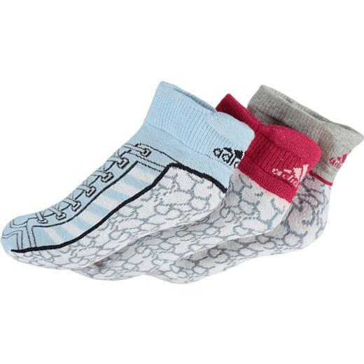 adidas PERFORMANCE Dětské vícebarevné kotníkové ponožky ADIDAS Ankle Socks  - Glami.cz 9af5a48d72
