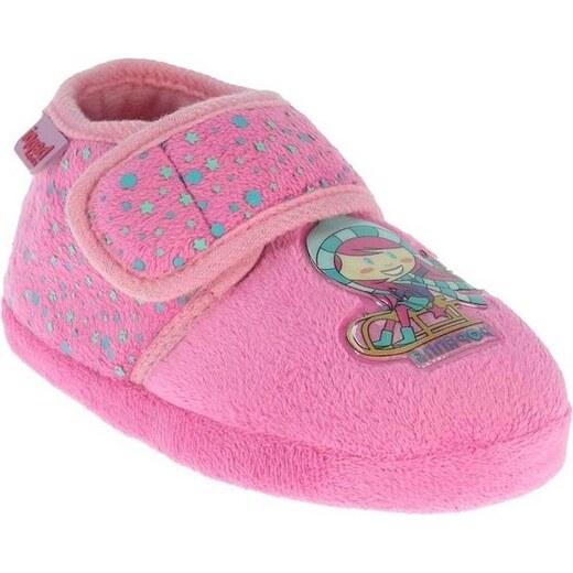 122b47f06 Beppi Dievčenské papučky s dievčatkom - ružové - Glami.sk