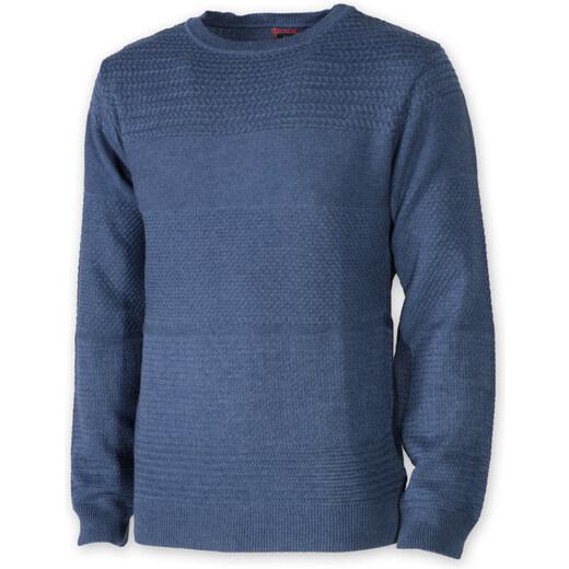 Pánský svetr Willsoor 8235 v modré barvě - Glami.cz dfe29ccb54