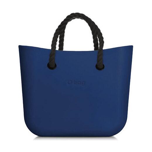 O bag modré kabelka MINI Bluette s černými krátkými provazy - Glami.cz 2da2ccea0c4