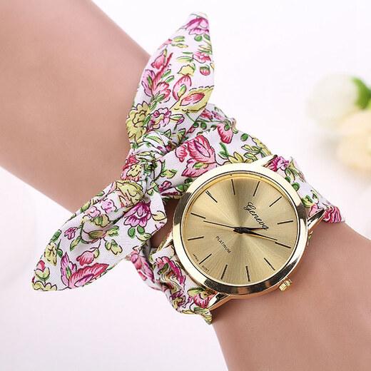 Shim Watch Dásmké hodinky Geneva na vázaní Roses - Glami.cz 63f2bd256d