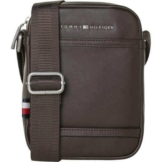 Tommy Hilfiger tmavo hnedá pánska taška City Mini Reporter - Glami.sk eb46cbe1a52