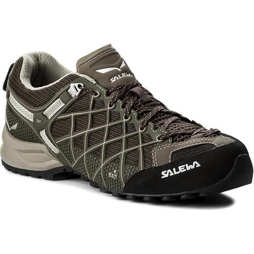9b1d14a75fd Trekingová obuv SALEWA - Ms Wildfire Vent 63420-0955 Black Juta - Glami.sk