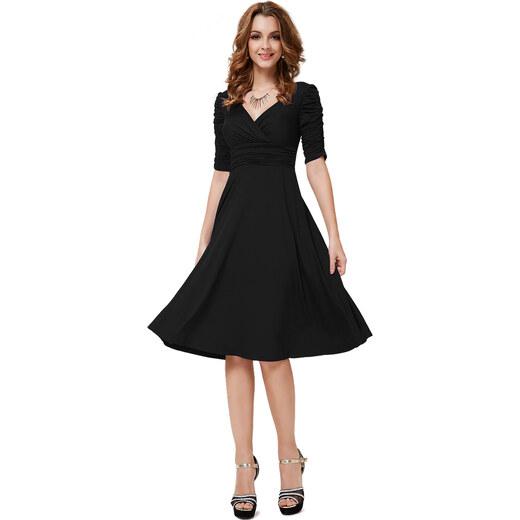 Ever Pretty EP koktejlové šaty s rukávkem - Glami.cz 262f32e29fa