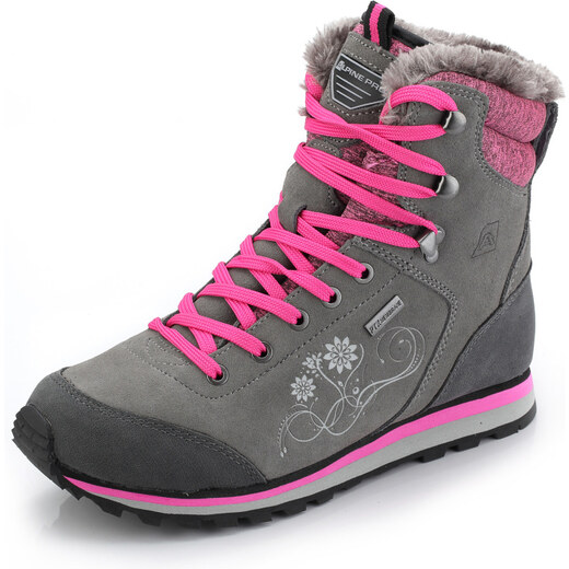 3041f686e8 ALPINE PRO XALINA Dámska zimná obuv LBTK143778 cínová 41 - Glami.sk