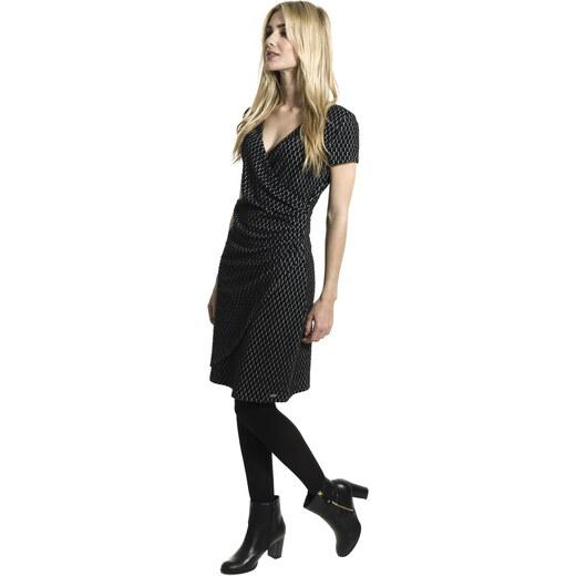 Smash AVELINA krátké šaty černé se vzorem - Glami.cz a9899a34d3e