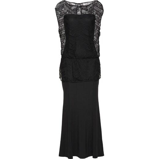 BODYFLIRT boutique Bonprix - robe d été Robe noir sans manches pour femme -  Glami.fr 8dd83b15f795