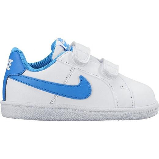 999424bdbaf Dětské tenisky Nike COURT ROYALE (TDV) WHITE PHOTO BLUE - Glami.cz