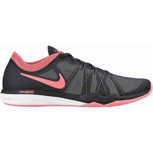 Dámská fitness obuv Nike WMNS DUAL FUSION TR HIT BLACK LAVA GLOW-DARK  GREY-PALE - Glami.cz 6e339623da