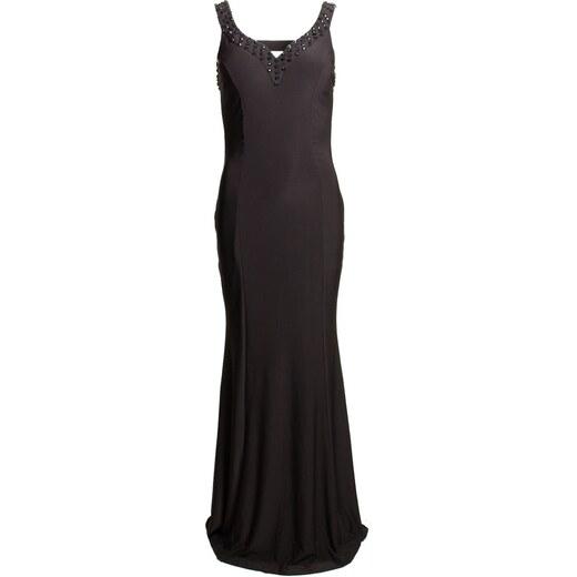 Due Linee Společenské dlouhé šaty s volnými zády - černá - Glami.cz 20b5116002