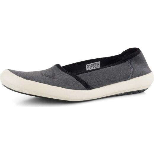 a62168794c5 adidas baleríny šedé Boat Slip-On - Glami.cz