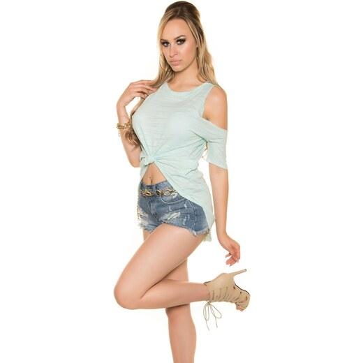 ec3c4d7030ff Koucla Trendy letné dámske tričko - Glami.sk