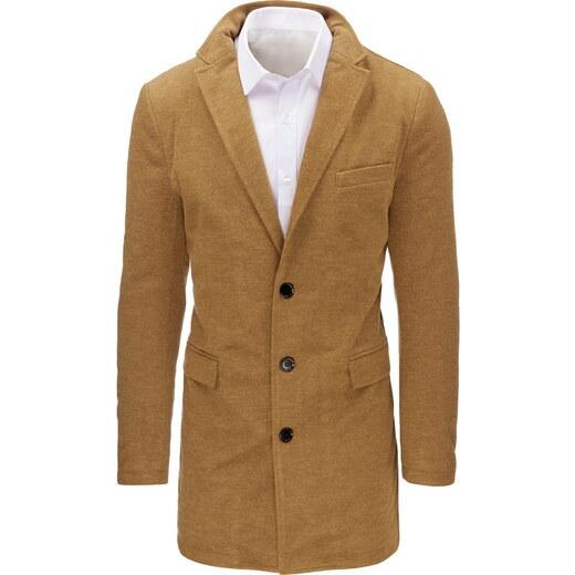 OSTATNÍ Pánský zimní hnědý kabát (cx0359) - Glami.sk 454f1d4d3f6